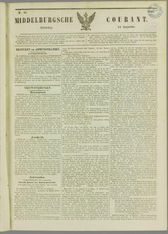 Middelburgsche Courant 1847-08-14