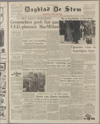 de Stem 1962-09-20