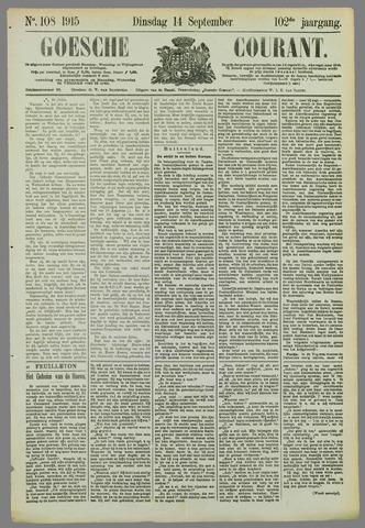 Goessche Courant 1915-09-14