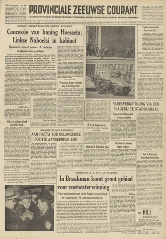 Provinciale Zeeuwse Courant 1957-04-16