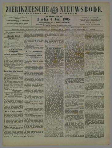 Zierikzeesche Nieuwsbode 1905-06-06