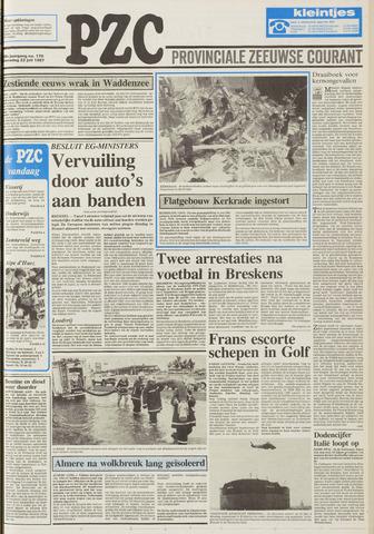 Provinciale Zeeuwse Courant 1987-07-22