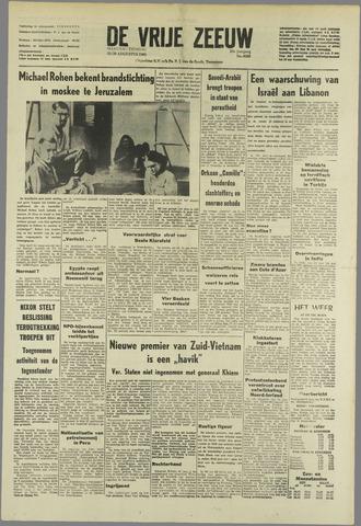 de Vrije Zeeuw 1969-08-25