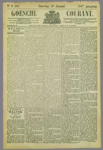 Goessche Courant 1917-01-20
