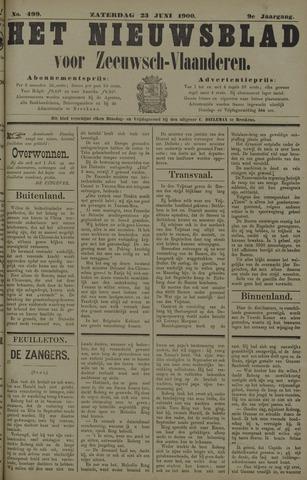 Nieuwsblad voor Zeeuwsch-Vlaanderen 1900-06-23
