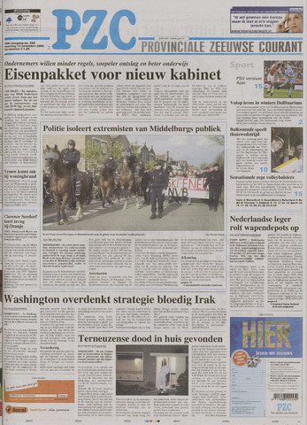 Provinciale Zeeuwse Courant 2006-11-13