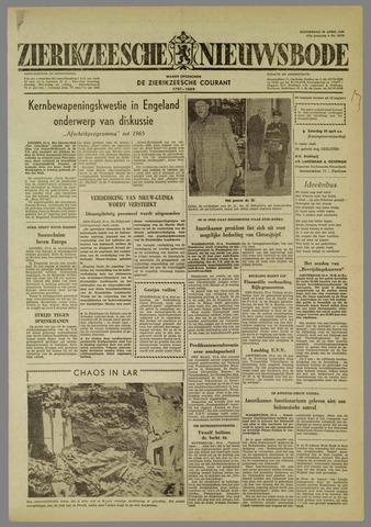 Zierikzeesche Nieuwsbode 1960-04-28