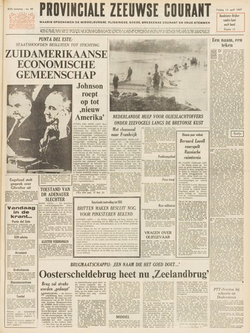 Provinciale Zeeuwse Courant 1967-04-14