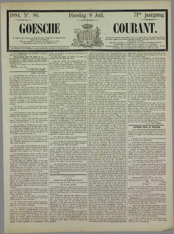 Goessche Courant 1884-07-08