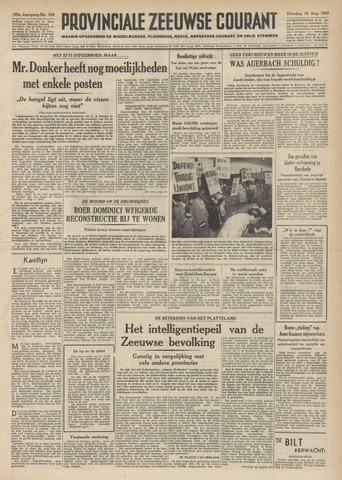 Provinciale Zeeuwse Courant 1952-08-19