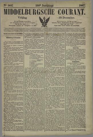 Middelburgsche Courant 1887-12-23