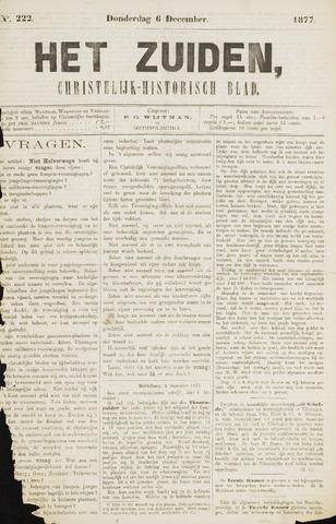 Het Zuiden, Christelijk-historisch blad 1877-12-06