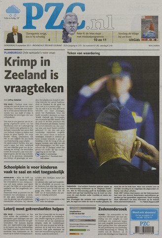 Provinciale Zeeuwse Courant 2011-09-08