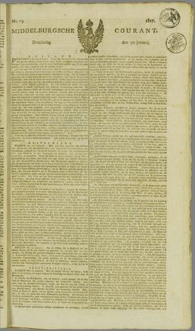 Middelburgsche Courant 1817-01-30