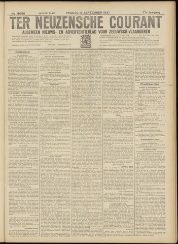 Ter Neuzensche Courant. Algemeen Nieuws- en Advertentieblad voor Zeeuwsch-Vlaanderen / Neuzensche Courant ... (idem) / (Algemeen) nieuws en advertentieblad voor Zeeuwsch-Vlaanderen 1937-09-17