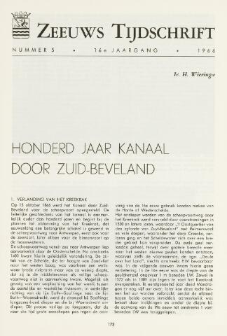 Zeeuws Tijdschrift 1966-09-01