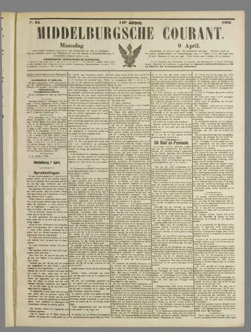 Middelburgsche Courant 1906-04-09