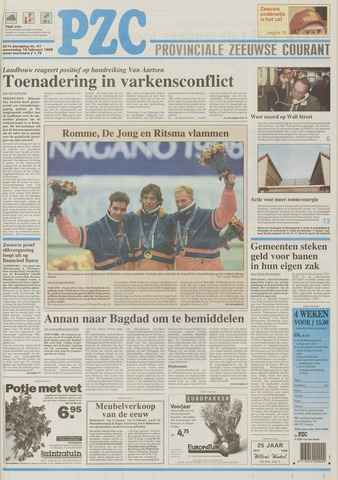 Provinciale Zeeuwse Courant 1998-02-18