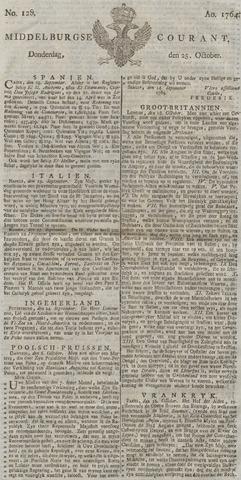 Middelburgsche Courant 1764-10-25