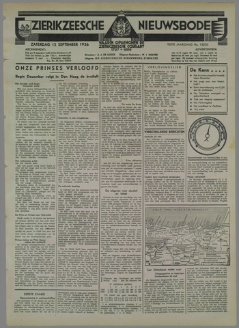 Zierikzeesche Nieuwsbode 1936-09-12