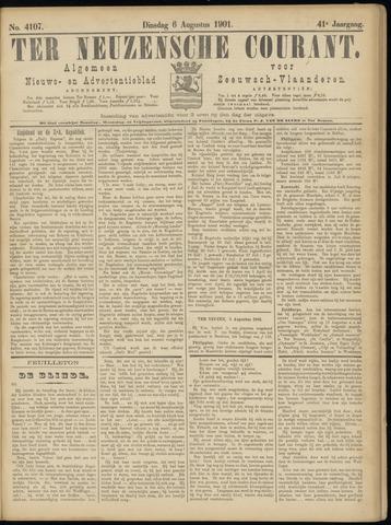 Ter Neuzensche Courant. Algemeen Nieuws- en Advertentieblad voor Zeeuwsch-Vlaanderen / Neuzensche Courant ... (idem) / (Algemeen) nieuws en advertentieblad voor Zeeuwsch-Vlaanderen 1901-08-06