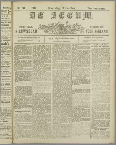 De Zeeuw. Christelijk-historisch nieuwsblad voor Zeeland 1912-10-21