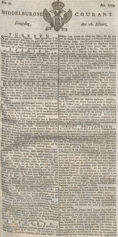 Middelburgsche Courant 1779-03-16