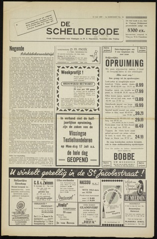 Scheldebode 1950-07-14