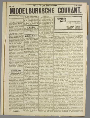 Middelburgsche Courant 1927-10-19