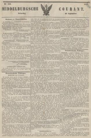 Middelburgsche Courant 1851-09-20