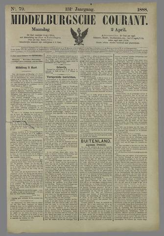 Middelburgsche Courant 1888-04-02