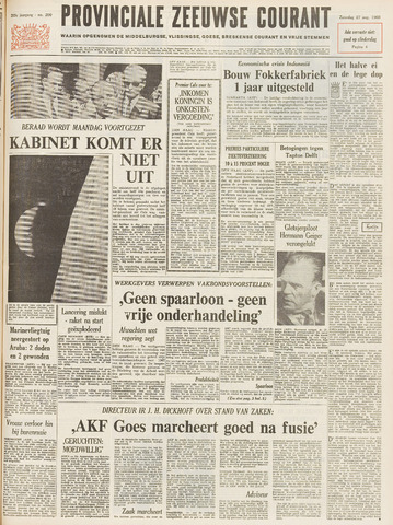 Provinciale Zeeuwse Courant 1966-08-27
