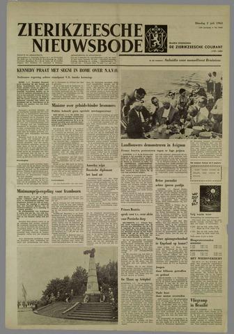 Zierikzeesche Nieuwsbode 1963-07-02