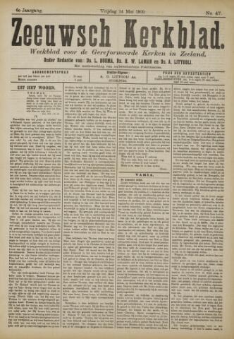 Zeeuwsche kerkbode, weekblad gewijd aan de belangen der gereformeerde kerken/ Zeeuwsch kerkblad 1909-05-14