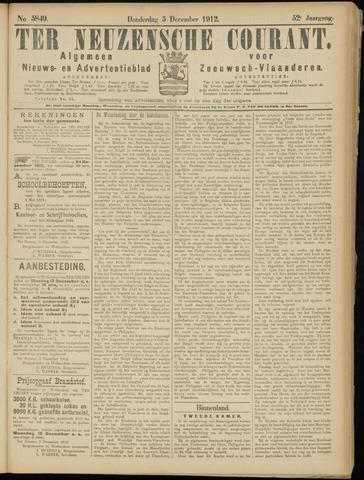 Ter Neuzensche Courant. Algemeen Nieuws- en Advertentieblad voor Zeeuwsch-Vlaanderen / Neuzensche Courant ... (idem) / (Algemeen) nieuws en advertentieblad voor Zeeuwsch-Vlaanderen 1912-12-05