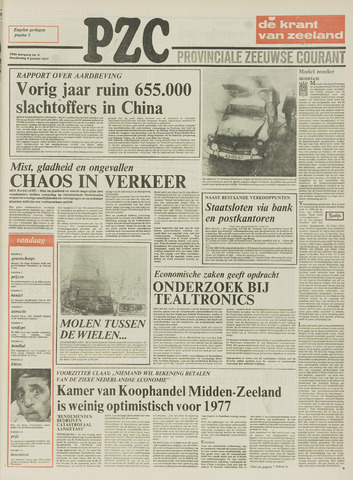 Provinciale Zeeuwse Courant 1977-01-06