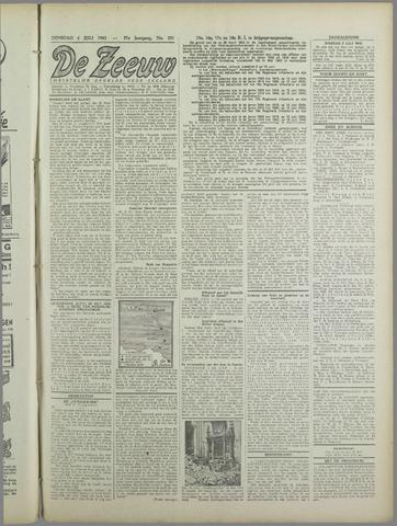 De Zeeuw. Christelijk-historisch nieuwsblad voor Zeeland 1943-07-06