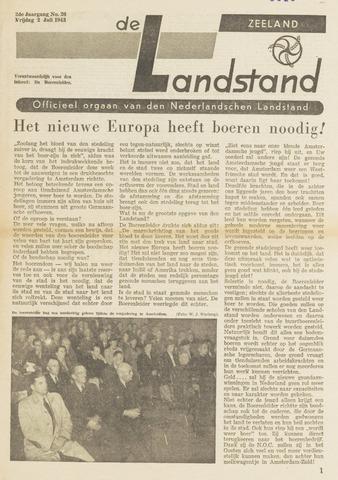 De landstand in Zeeland, geïllustreerd weekblad. 1943-07-02