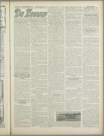 De Zeeuw. Christelijk-historisch nieuwsblad voor Zeeland 1943-11-30