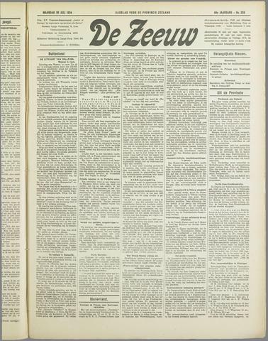 De Zeeuw. Christelijk-historisch nieuwsblad voor Zeeland 1934-07-30