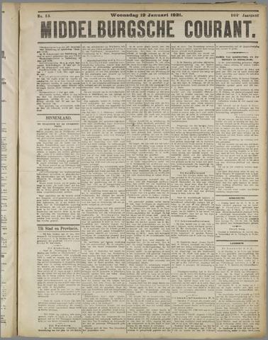 Middelburgsche Courant 1921-01-19