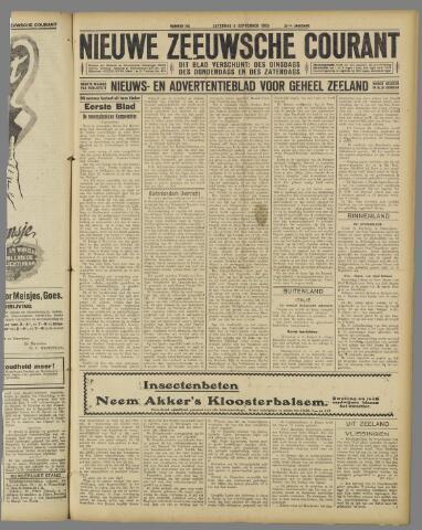 Nieuwe Zeeuwsche Courant 1925-09-05