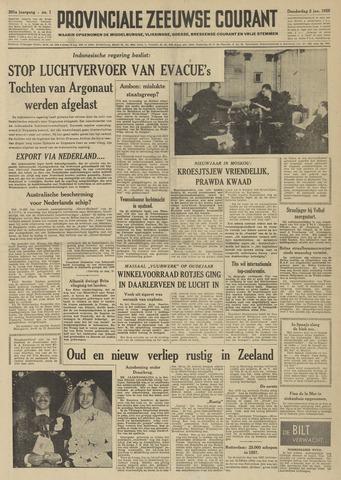 Provinciale Zeeuwse Courant 1958-01-02