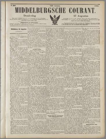 Middelburgsche Courant 1903-08-27