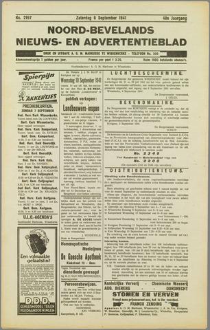 Noord-Bevelands Nieuws- en advertentieblad 1941-09-06