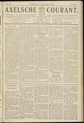 Axelsche Courant 1929-01-08