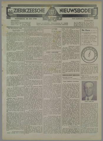 Zierikzeesche Nieuwsbode 1936-07-30