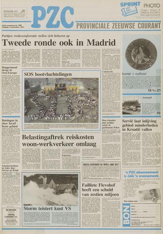 Provinciale Zeeuwse Courant 1991-11-01