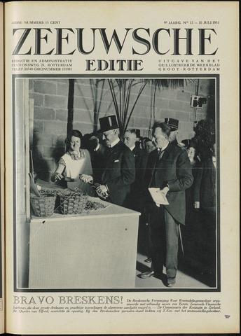 Ons Zeeland / Zeeuwsche editie 1931-07-10
