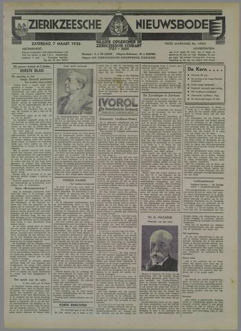 Zierikzeesche Nieuwsbode 1936-03-07